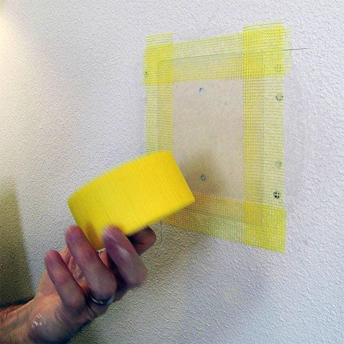 sheetrock drywall repair mesh tape