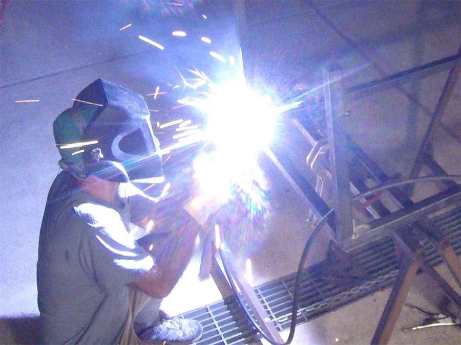 welding rv frame