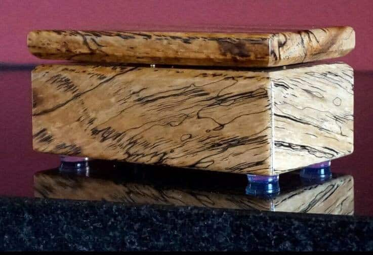 Spalted Pecan Jewelry Box